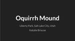 Oquirrh Mound