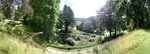 Chatsworth House Panoramic by Marguerite Beane