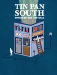2020 Tin Pan South poster by Kaelin Baudier