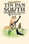 2020 Tin Pan South National Songwriting poster by Madison Thomson
