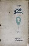 Catalog of Ward-Belmont, 1933 by Ward-Belmont College (Nashville, Tenn.)